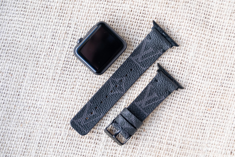 LV apple watch band 3 LV Monogram Apple watch straps Lv   Etsy