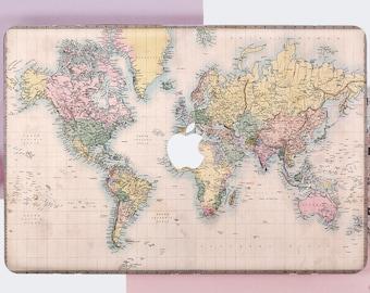 Macbook pro case map etsy macbook world map case macbook pro retina case macbook pro 13 hard case map macbook pro 15 case macbook air 11 case keyboard cover de0036 gumiabroncs Choice Image