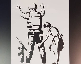 Banksy No Future wall art stencil,Strong,Reusable,Recyclable