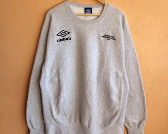 cb20a1b90a8 Vintage Umbro White Colour large Size Sweatshirt Pullover Jumper