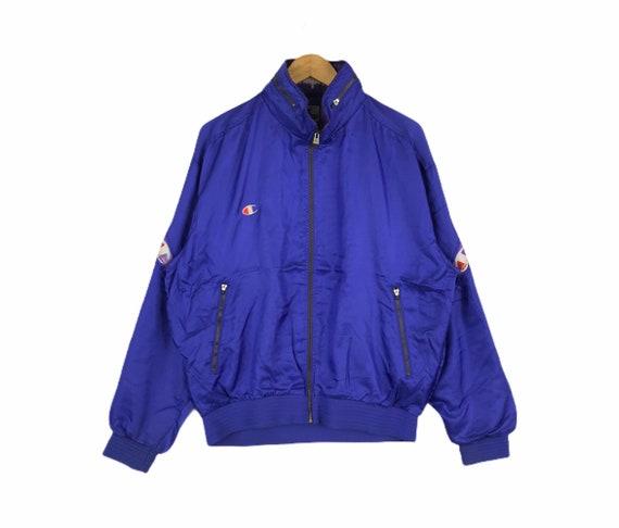 Vintage 90s Champion Products Track Top Zipper Jac