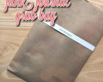 KraftPaperCo Grab Bag | Mystery Bag | Junk Journal | Scrapbook Supplies | Bujo | Stationery Grab Bag | Planner Supplies