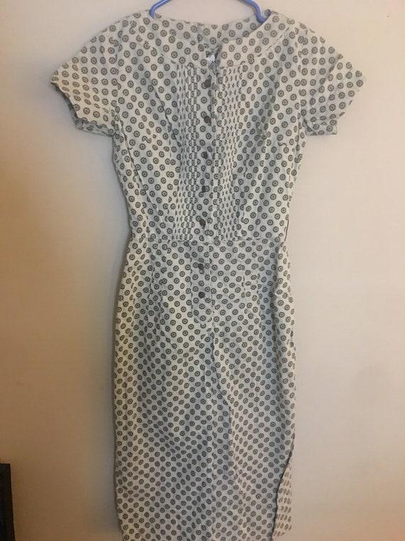 1950's Cotton Shirt Dress