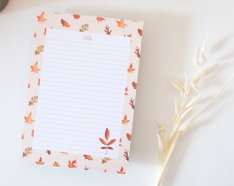 Fall Notebook 50 pages - Valley of paper
