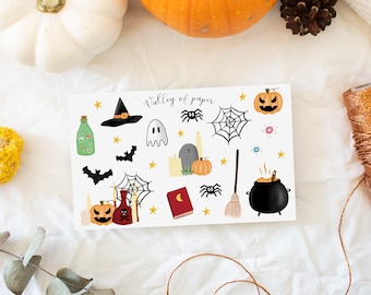 """Stickers """"Hello Ween? This is Trouille! for bullet journal, scrapbooking, planner, carterie"""