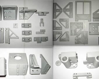 Anet A8 To Am8 Conversion Kit Metal Frame Rebuild Kit Parts Umbausatz Teile Abs 3d-drucker