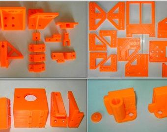 3d-drucker & Zubehör 3d-drucker Anet A8 To Am8 Conversion Kit Metal Frame Rebuild Kit Parts Umbausatz Teile Abs