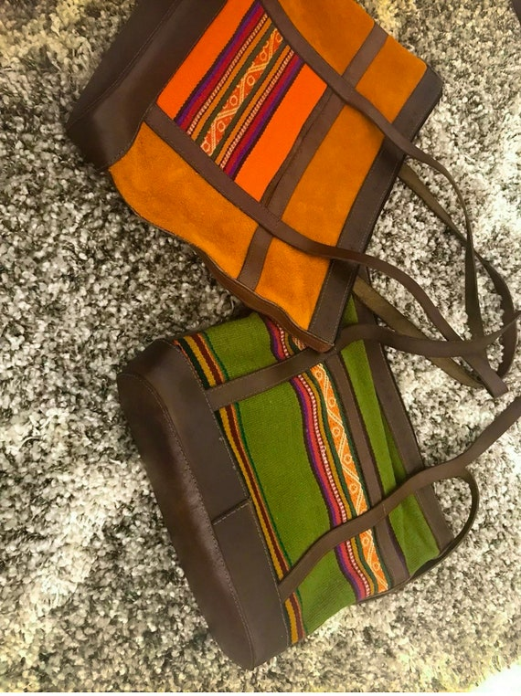 Indica Plateau Avocado Cotton Canvas Tote Bag