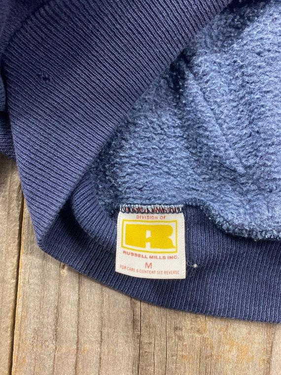 1970's Russell Gold Tag Pullover Hoodie Sweatshir… - image 10