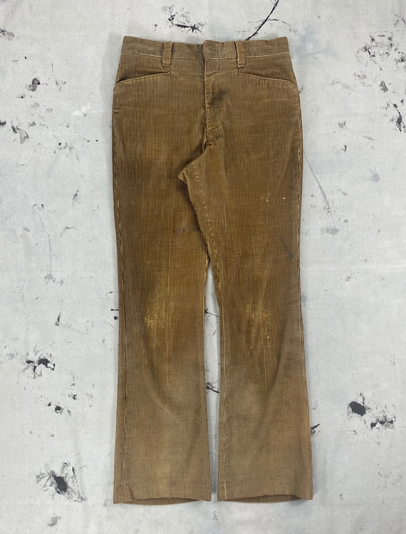 Vintage 1960's Faded Teddy Brown Levi's Sta-Prest