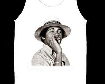 98a36cf3980 Obama Smoking Weed Shirt