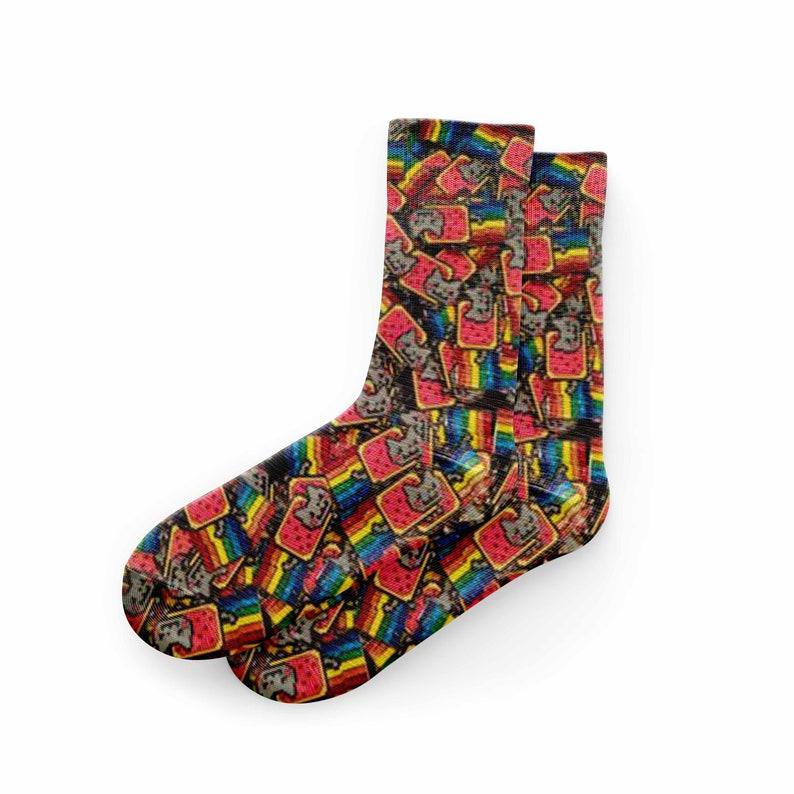 Nyan Cat Socks