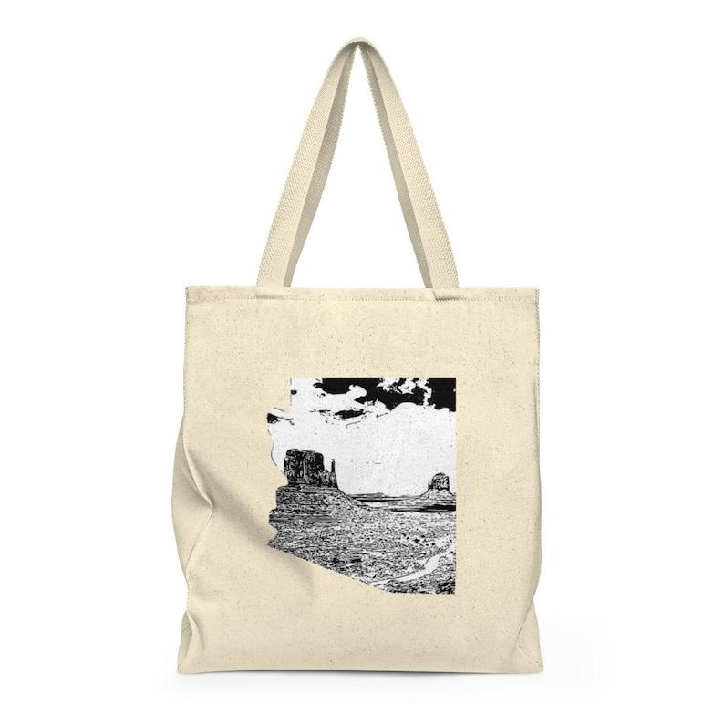 Arizona Monument Valley Shoulder Tote Bag