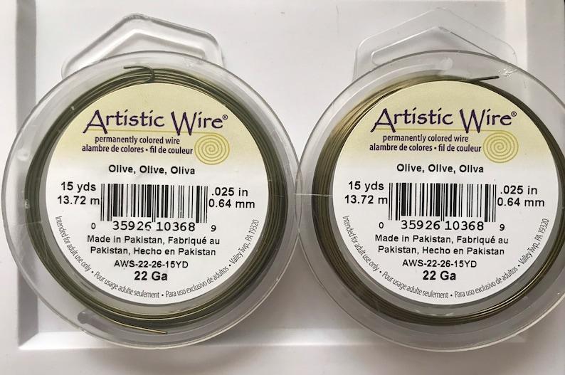 ARTISTIC WIRE 22G LeadNickel SAFE