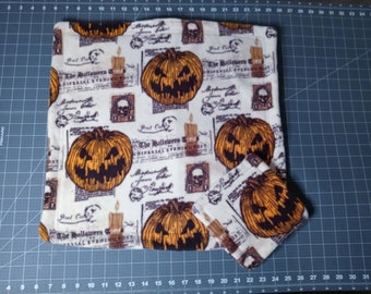 Ready to ship! Halloween reusable Fleece cage liners,  kitchen set for Guinea pig, Skinny pig, Hedgehog, Chinchilla, Rat, Ferret, Bunny