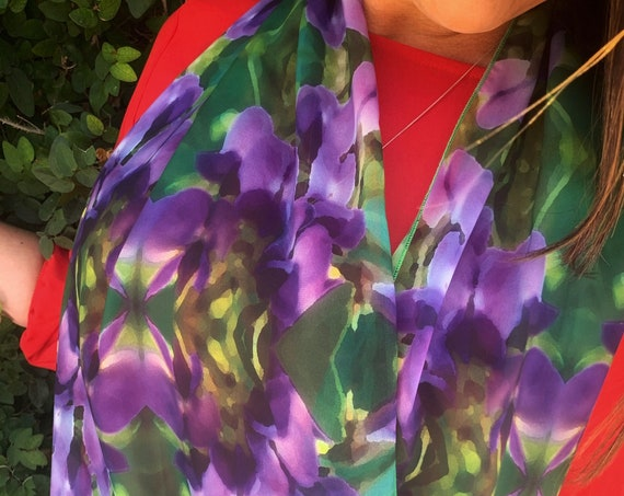 Texas Mountain Laurel Infinity Scarf