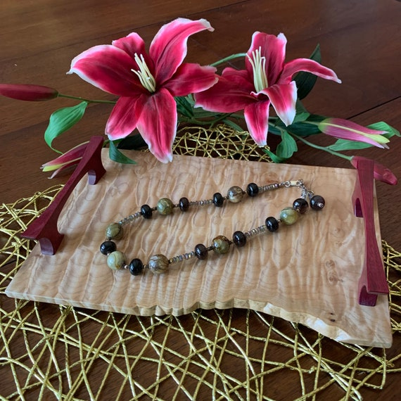 Live Edge Decorative Tray
