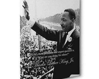 Items Similar To Martin Luther King Jr Quote You Dont Have To See