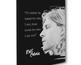 Kurt cobain quotes   Etsy