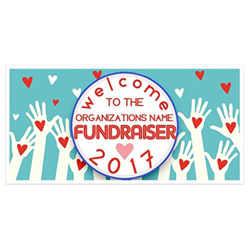 Business Fundraiser Personalized Banner