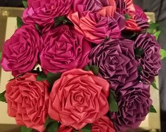 Ribbon flowers etsy more colors satin ribbon flowers mightylinksfo