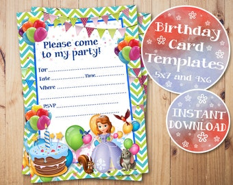 Doc Mcstuffins Fill In Invitationsdoc Mcstuffins Birthday Etsy