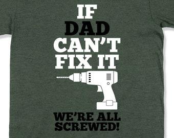 2fbe9e85 Funny Dad Gift For Handyman Shirt Fathers Day T Shirt Handyman Dad TShirt  Occupation Shirt Electrician T Shirt Profession Shirt Mens -SA1085