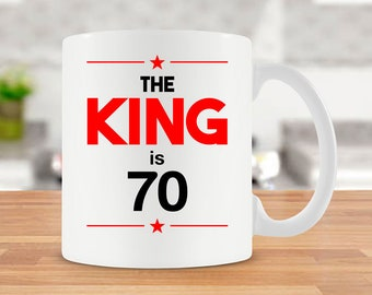 Funny Birthday Gift Ideas For Him 70th Mug Bday Present Coffee 70 Years Old Ceramic