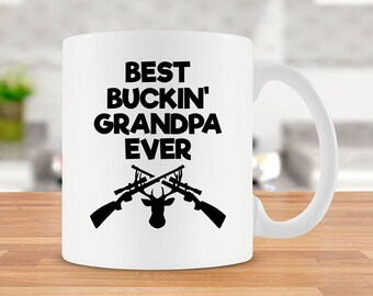 Hunting Gift For Grandpa Mug Idea Outdoorsman Cup Best Coffee Ceramic