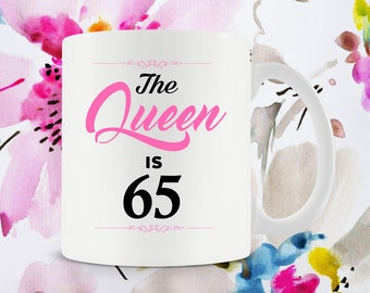 65th Birthday Mug Best Coffee Cups Gift Ideas For Her 65 Gifts Women Bday Years Old Ceramic