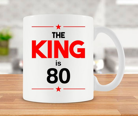 80th Birthday Gift Ideas For Men Coffee Mug Best