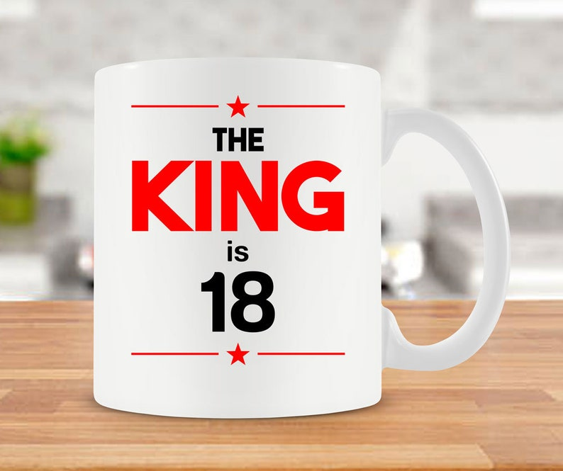 18th Birthday Gift Ideas For Him Mug Coffee 18
