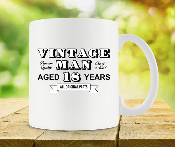 18th Birthday Mug For Him Bday Gift Ideas For Men Birthday