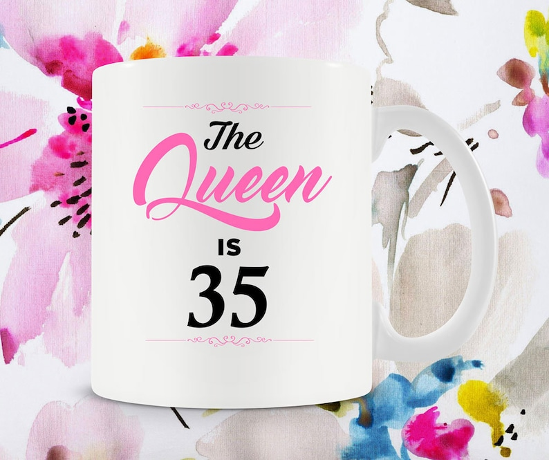35th Birthday Gift Ideas For Women Mug Bday