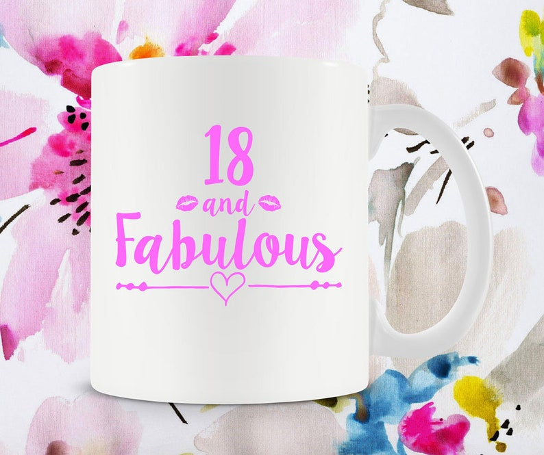 18th Birthday Gift Idea For Her Bday Present Mug Best