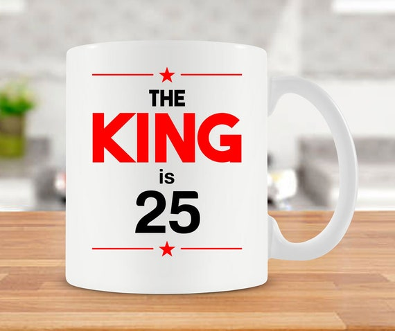 25th Birthday Gift Ideas For Men Funny Coffee Mug Him 25
