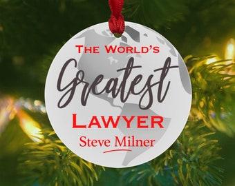 Lawyer ornament | Etsy