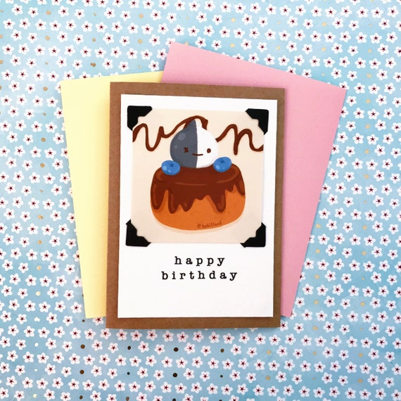 BT21 Van Greeting Card Customize