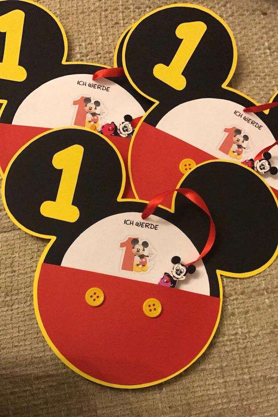 Tarjetas De Invitación Mickey Mouse