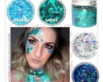 Glitter Makeup Etsy