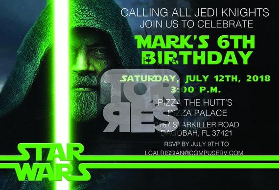 photo about Star Wars Birthday Invitations Printable identified as Luke Skywalker, Star Wars Birthday Invitation, Printable Star Wars, Star Wars Social gathering, Star Wars Invite