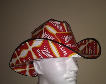 a5f367dada5 High Life Cowboy Beer Hat