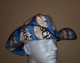 Busch Beer Cowboy Hat 5eb91662059d