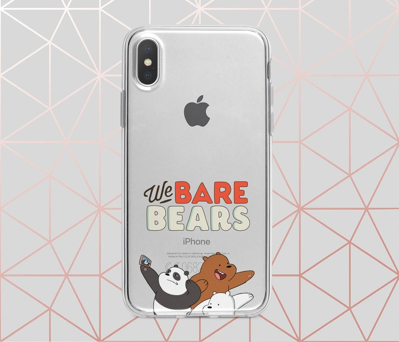 newest ccf74 ec931 Inspired by We Bare Bears Samsung S9 case iPhone X case iPhone 8 Plus case  iPhone XS Max case iPhone 7 Plus XR case Pixel 3 case Note 8 case