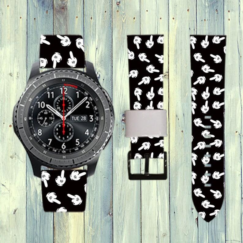 f025af89ffdd6 Myszka Miki Samsung Gear S3 zespół Gear S3 zespół Gear S3