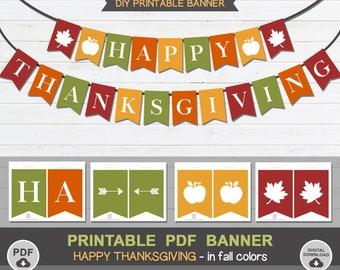 printable banner etsy