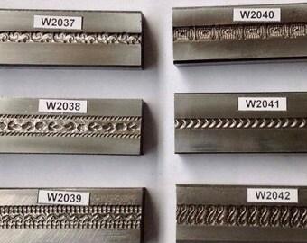 Steel Die 10 Channels  Designs  Patterned Lines in one Steel Plate Bangle Die Wire Die
