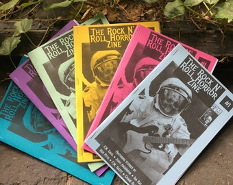 The Rock N' Roll Horror Zine, Issue #1