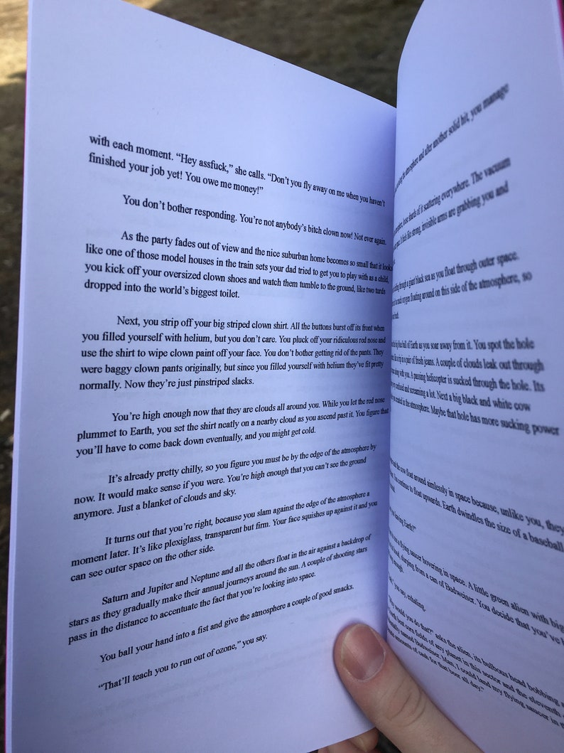 Five Tales Of Wacky Surrealism - a chapbook of stories by Ben Fitts
