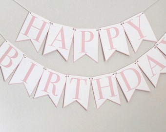 """Classic """"Happy Birthday"""" Party Banner"""